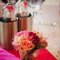 Decoración de boda con flores