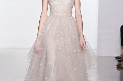 Die Brautkleider-Kollektion 2015 von Christos – auf der New York Bridal Week
