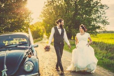 Eine romantische Vintage-Hochzeit in der Schweiz