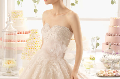 Abiti da sposa 2015 con scollatura a cuore: alle tue nozze metti in risalto il decolleté