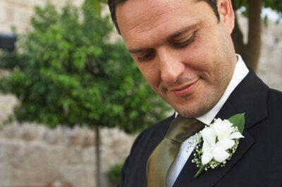 Den Bräutigam richtig ausstaffieren
