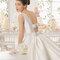 Hochzeits-Kleid: Brautkleid mit Schleife am Rücken
