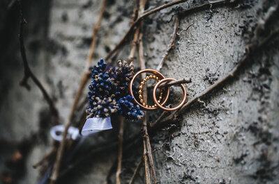 Wie trage ich Verlobungs- und Eheringe richtig?