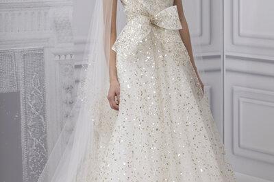 Monique Lhuillier Wedding Dresses Spring 2013: What We Love