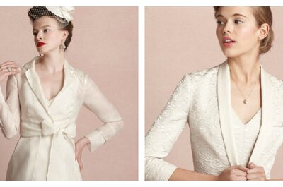 Boleros - das beste Accessoire zum Brautkleid für eine Hochzeit im Winter
