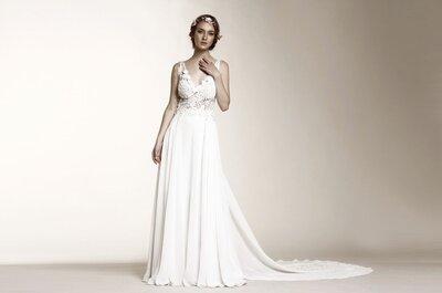 Siete estilos diferentes para un vestidos de novia. ¿Cuál es el tuyo?