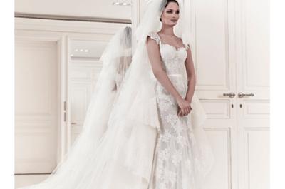 Vestidos de novia 2014 con tul y encaje de Zuhair Murad