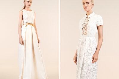 Découvrez vite la nouvelle collection de robes de mariée Maria Luisa Mariage au Printemps Haussmann