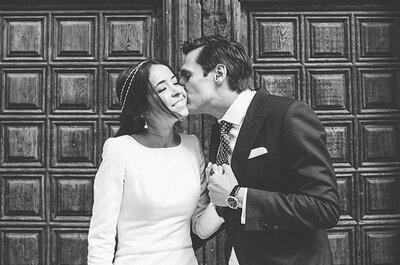 La boda de Cecilia y Mariano: Gospel, violines y un vestido de terciopelo