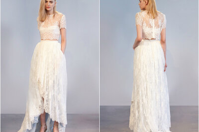 Houghton Bride Spring/Summer 2015 Bridal Collection: Bold and Bared