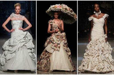 Ian Stuart 2013, abiti perfetti per una sposa eccentrica con stile!