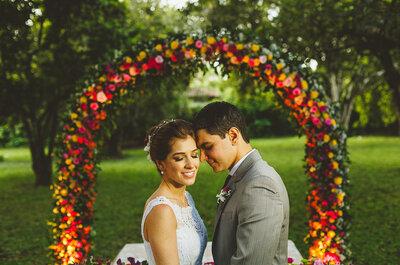 Taciana & André: lindo casamento no campo em Pernambuco ao ar livre