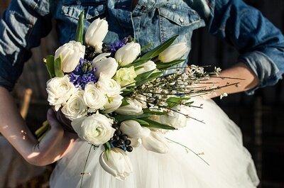 Dekoracje weselne w kolorze niebieskim