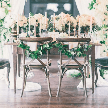 The most stylish wedding chairs ever!