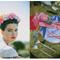 Un look de novia cultural inspirado en Frida Kahlo - Foto Amber Vickery Photography