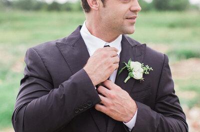 ¿Qué le regalo a mi novio el día de la boda? 5 Ideas que le encantarán