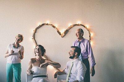 10 decorazioni di nozze con cuori