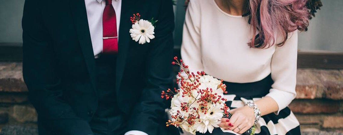I capelli della sposa 2017 si tingono di…rosa!