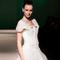 La sposa mediterranea in passerella
