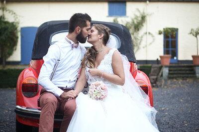 Laury et Jérémy : leur joli mariage en Belgique organisé depuis la Suisse