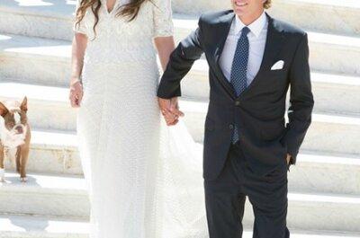 Boda en Mónaco: Un vestido de novia como el de Tatiana Santo Domingo