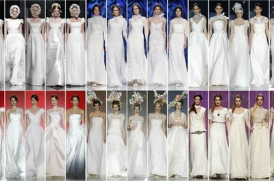 I don't have a model's figure, so how do I choose my wedding dress?