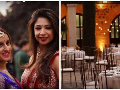 Más de 500 velas y miles de flores: una boda india de tres días en Toledo