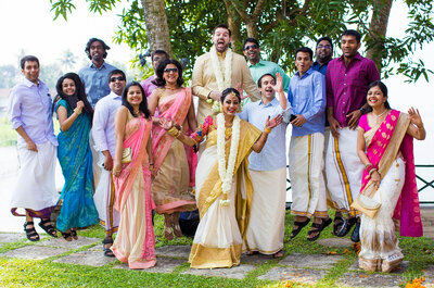 Fabulous Real Wedding of Sandhya and Scott: The one with the international guests