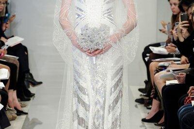 Cuentos de hadas de antaño, la inspiración en los vestidos de novia primavera 2015 de Theia