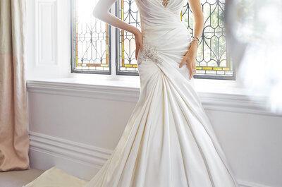 El vestido de novia ideal para las chicas con poco busto: Descubre qué diseño te queda