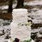 Um casamento na neve.