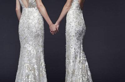 Or et argent : votre robe de mariée sera lumineuse et élégante