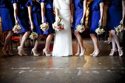 Decora tu boda en azul turquí con estas increíbles propuestas