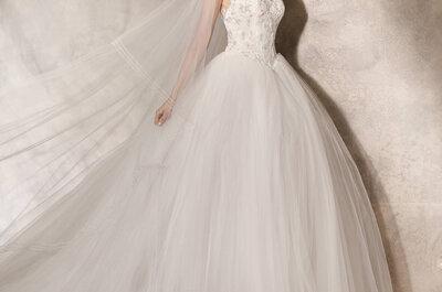 3 razões para escolherem um vestido de noiva de linha princesa: que o sonho se concretize!
