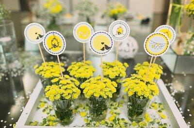 Love yellow: a cor capaz de alegrar o seu casamento