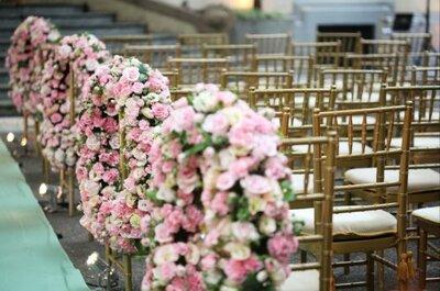 Detalles color rosa para la decoración de tu boda