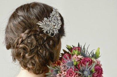 Tranças: o penteado da moda para noivas 2015