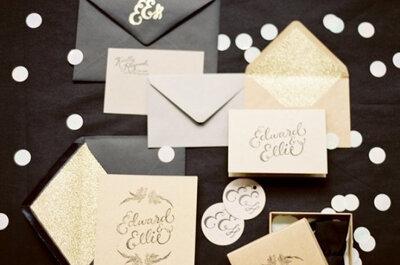 Tu boda dorada: lujosas ideas para una celebración ultra chic