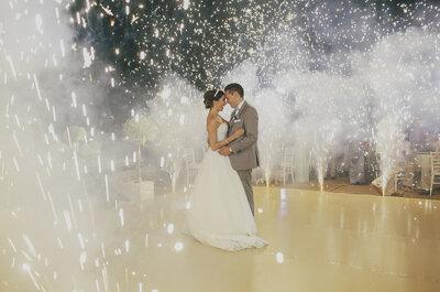 Mi corazón te ve, mi alma te respira: Así fue la boda de Sara y Luis en Punta Mita