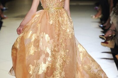 Bridal Dress Inspiration from Elie Saab Haute Couture Fall 2012