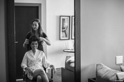 Pamela e Kristiano: casamento clássico sofisticado com toques orientais em Curitiba