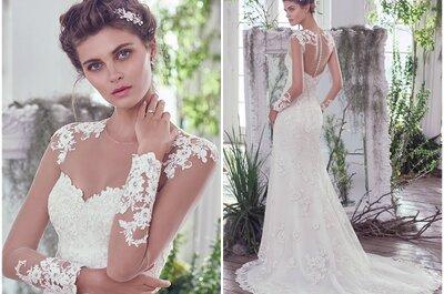 Maggie Sottero Autumn 2016: Luxurious and glamorous wedding dresses