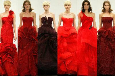 Dettagli per matrimonio in rosso