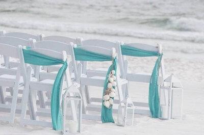 Casar de havaianas! Para quem sonha trocar os votos à beira mar.