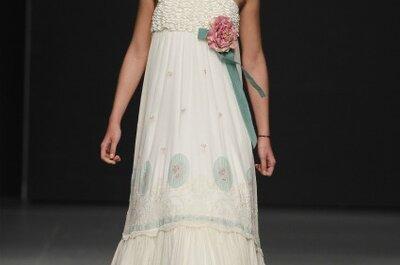 ¿Eres una novia moderna y atrevida? Toma nota de los vestidos de novia Pol Núñez 2012