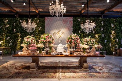 Como apresentar os pratos do buffet no seu casamento em 2016: dicas super atuais!