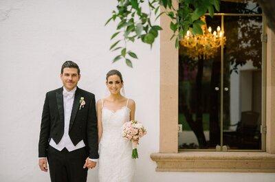 Conocer el cielo en tu mirada: La boda de Cynthia y Rafa