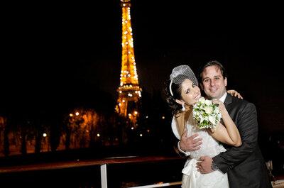 Sonho de um casamento em Paris: Real Wedding Patrícia e Leonardo