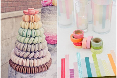 Marvellous Macaroons for a Moreish Wedding