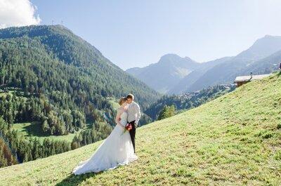Stéphanie & Rainer heirateten in den Walliser Bergen – Unvergessliche Feier in malerischem Ambiente